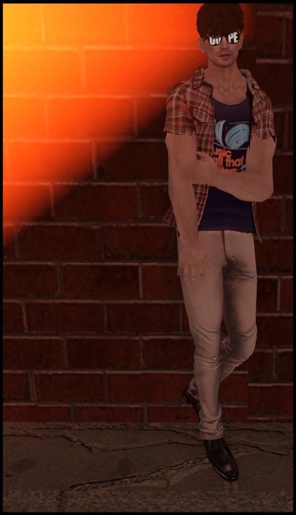 <kal rau> skinny jeans clear